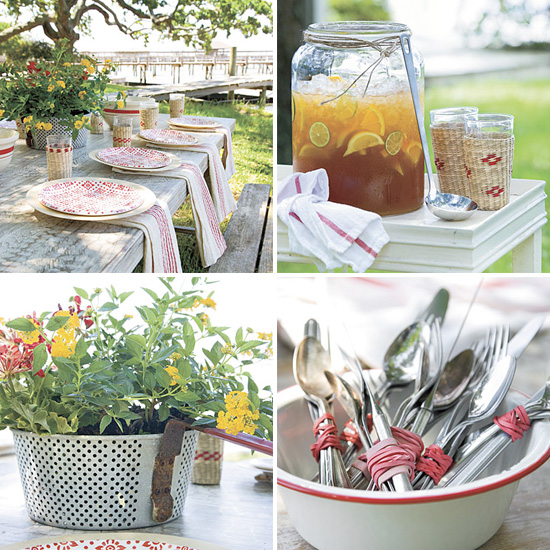 Decorating Tablescapes: Fab Outdoors Entertaining