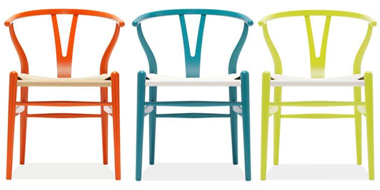 Design classic 1 wishbone chair caribbean living blog - Wishbone chair knock off ...