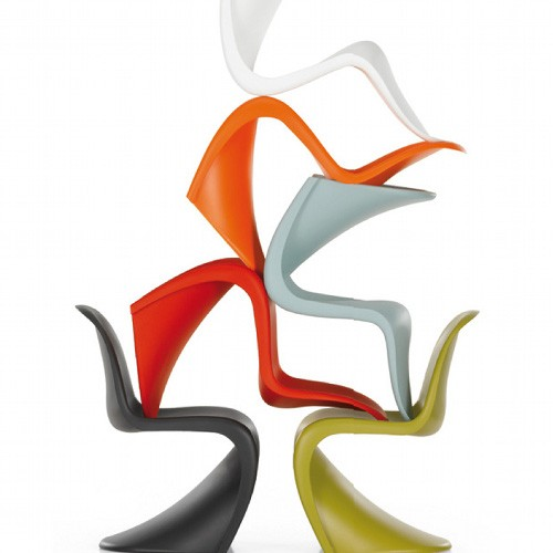 Design classic 8 panton chair caribbean living blog - Who designed the panton chair ...