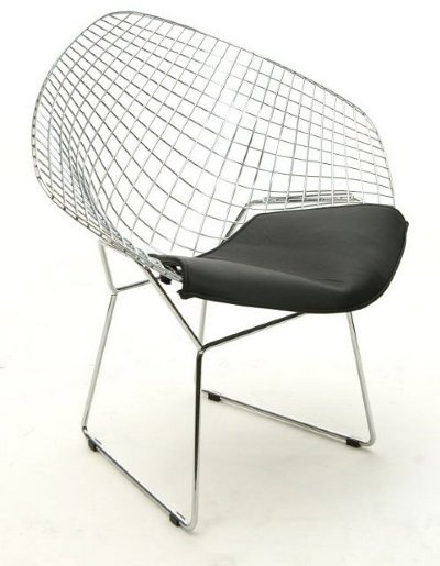 design classic 23 bertoia wire chair caribbean living blog. Black Bedroom Furniture Sets. Home Design Ideas