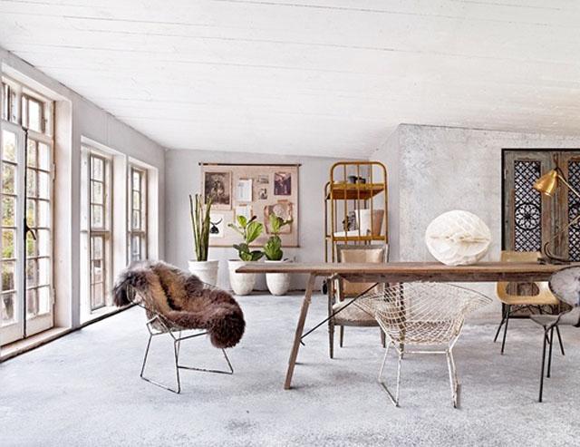 Design Classic 23 Bertoia Wire Chair Caribbean