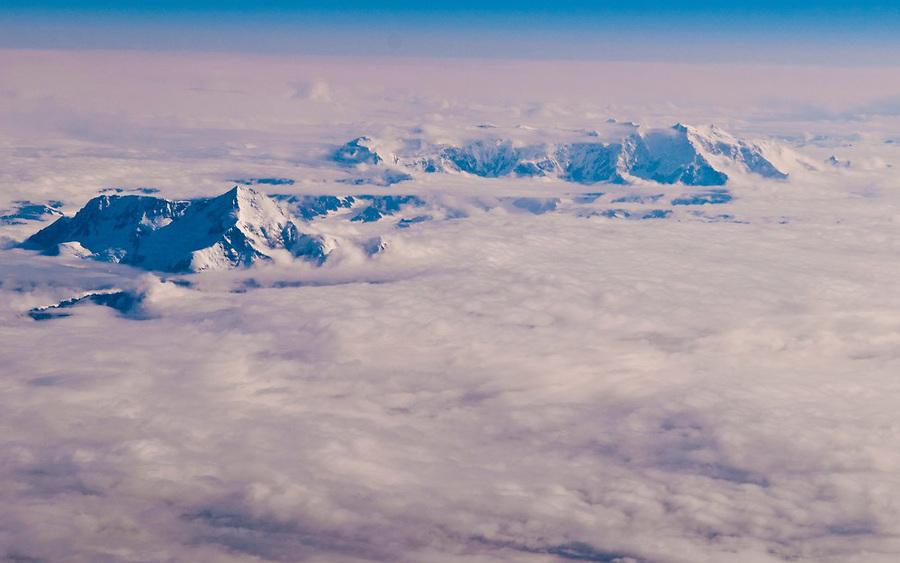 Alaska - Siberia aerial view1