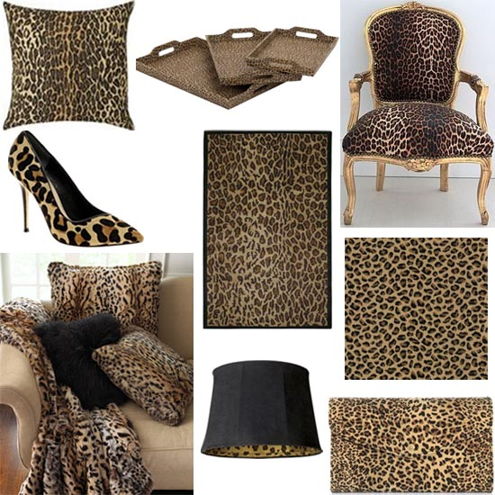 interior design leopard shopping guide