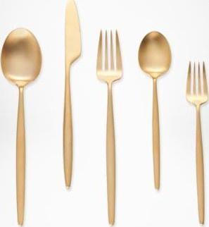 dvf gold cutlery