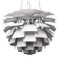 interior design artichoke lamp
