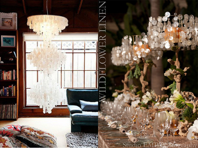 interior design capiz chandelier5