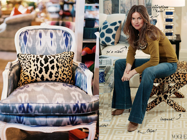 leopard and ikat1