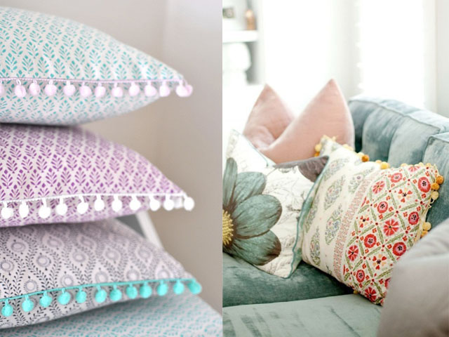 pom pom trim interior design2
