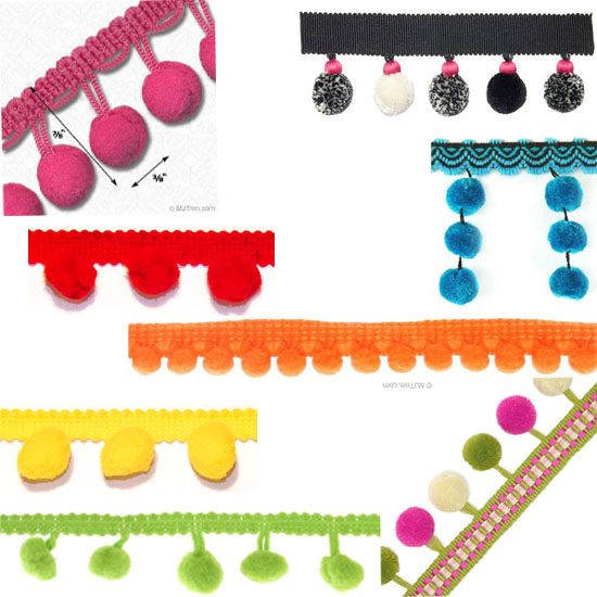 pom pom trim shopping guide