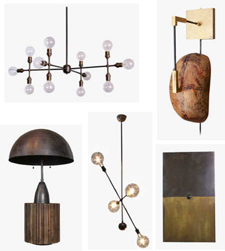 Gabriel Hendifar lighting collection