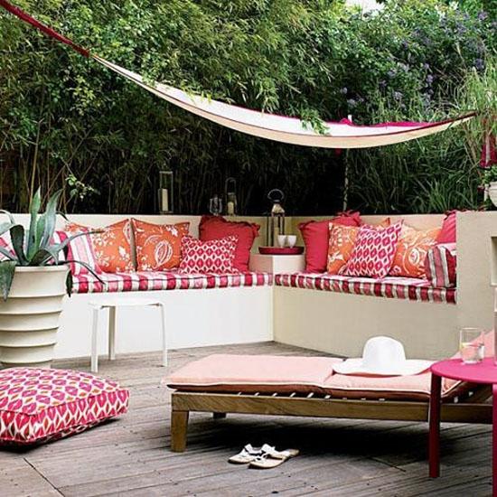 pink and orange interior design3