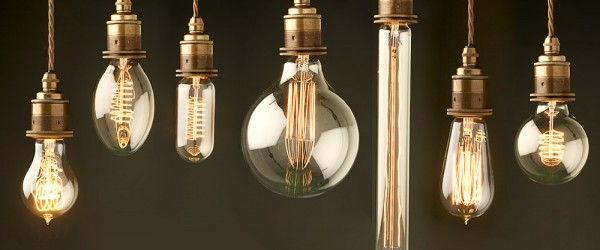 edison filament light bulbs
