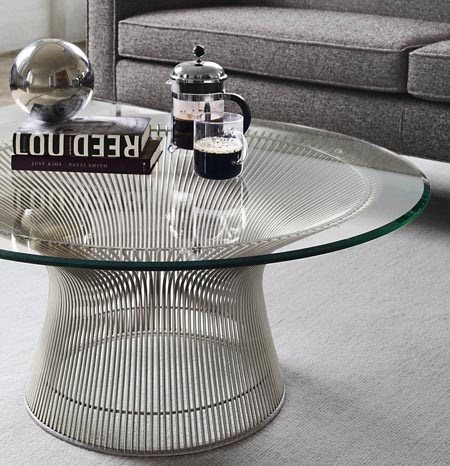 interior design platner table