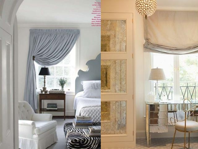 traditional curtains interior design1