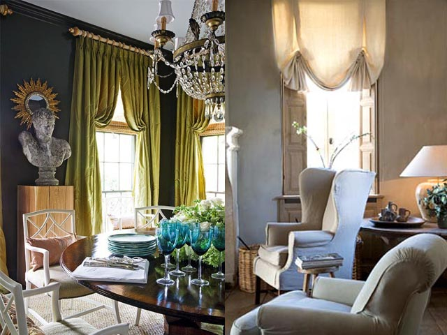 traditional curtains interior design6