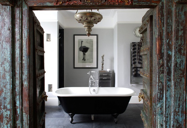 clawfoot tub interior design9