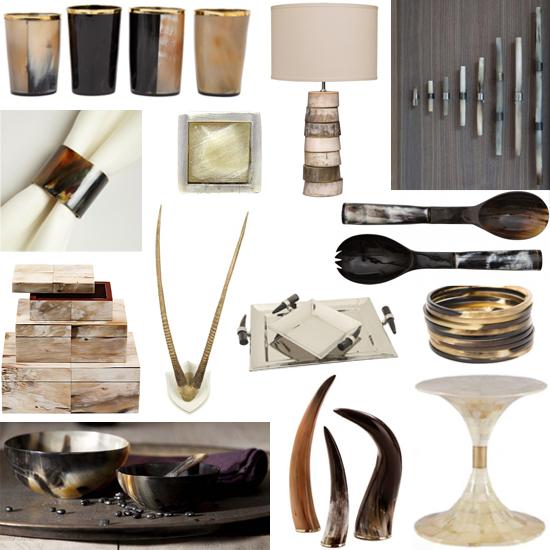 interior design horn shopping guide