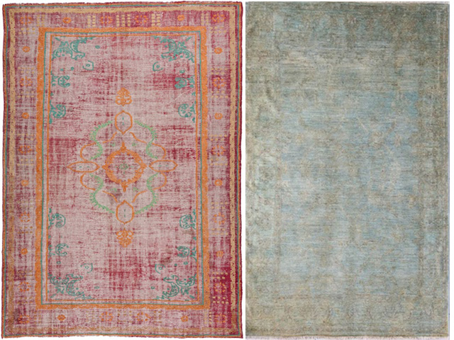 interior design overdyed rugs1