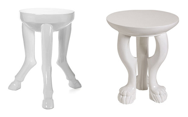 affordable animal leg side table