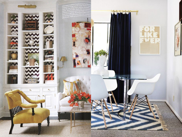 chevron interior design4