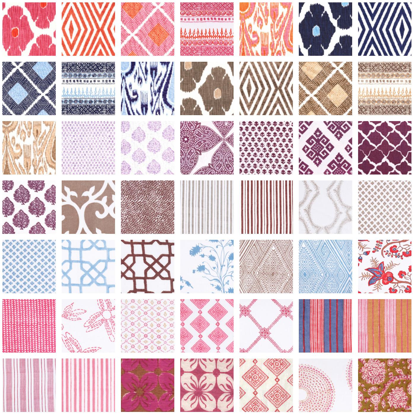 John Robshaw Fabrics: Curtains & Fabrics