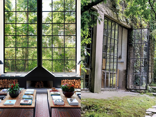 Interior design black window frames caribbean living blog for Window design metal