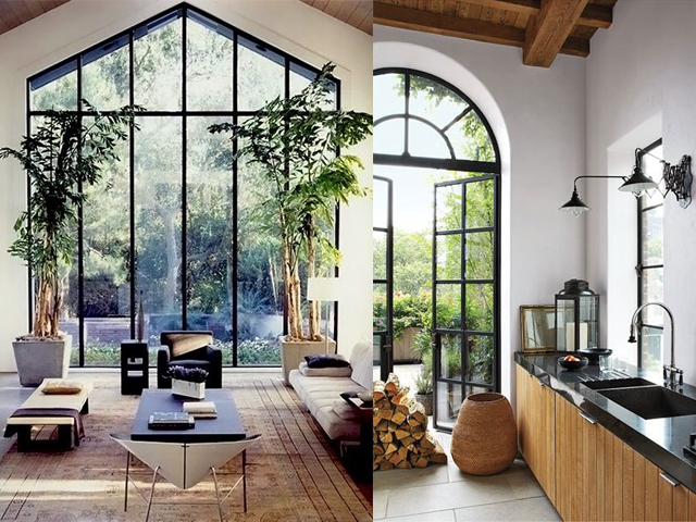 Interior design black window frames caribbean living blog for Window frame designs house design