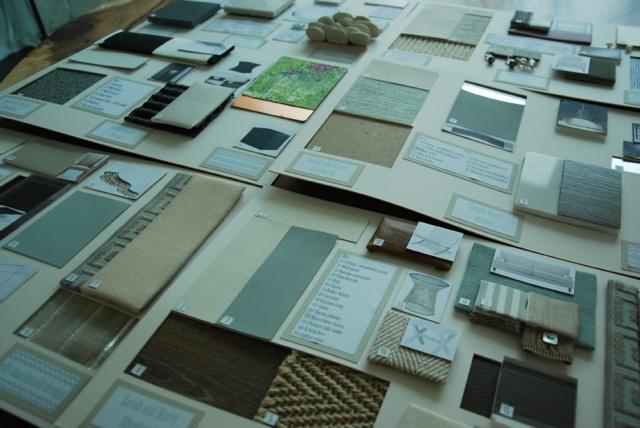 Elly MacDonald Design - sample boards1