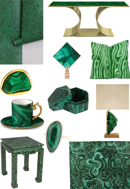 interior design malachite